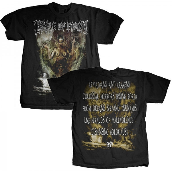"Cradle of Filth ""Titan"" Men's T-Shirt w/ Back Print"