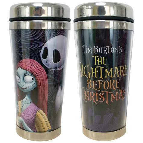 Jack And Sally Travel Mug (Westland Giftware)