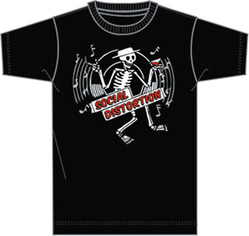 "Social Distortion ""Skeleton"" Toddler Tee (Bravado)"