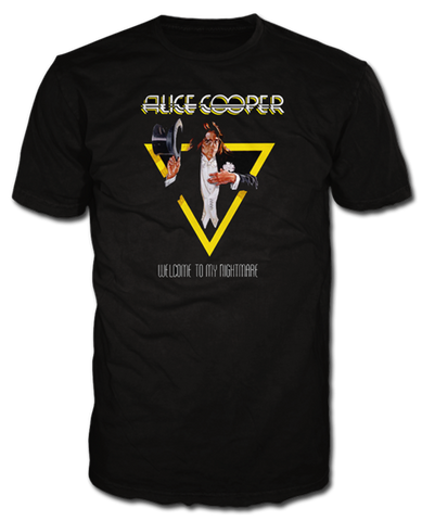 "Alice Cooper ""Welcome to my Nightmare"" Men's Tee"