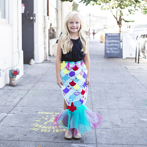 Make your own mermaid tail by disney and seedling
