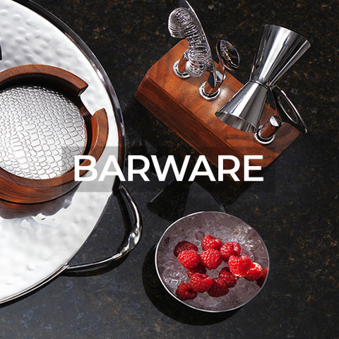 takes customer to a page of barware collections by Mary Jurek Design