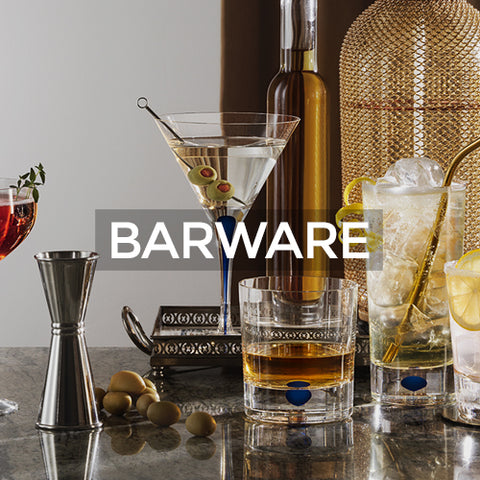 When clicked takes customer to a page of Barware collection by Orrefors