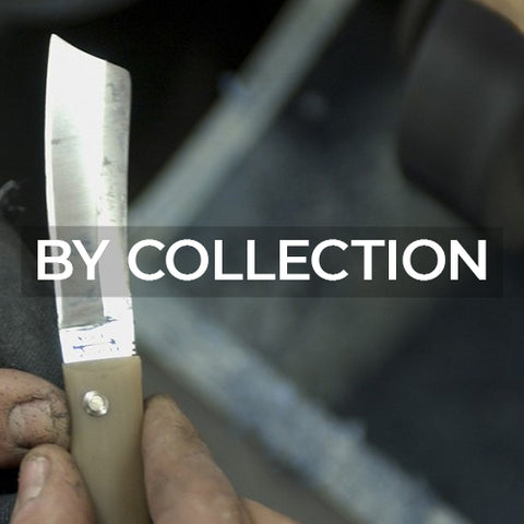 when clicked link takes customer to a page of cutlery by by name of collections made by Berti