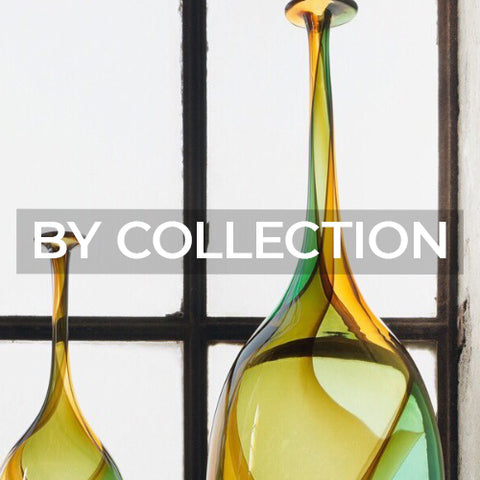 Link takes customer to a page of all the collections from Kosta Boda Sweden