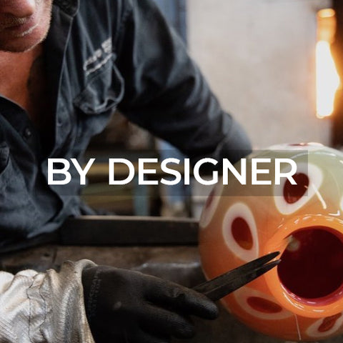 Link takes customer to a page of designers from Kosta Boda Sweden