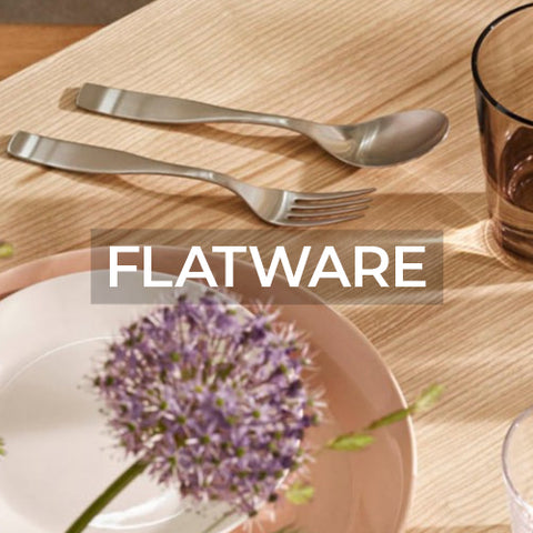 link takes customer to a page of flatware collections by Iittala