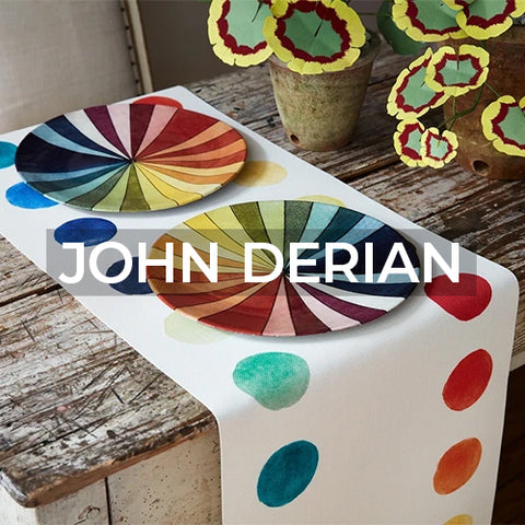 when clicked takes customer to the  John Derian brand page on Amusespot