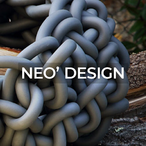 when clicked takes to a page of knitted products by Neo' Design