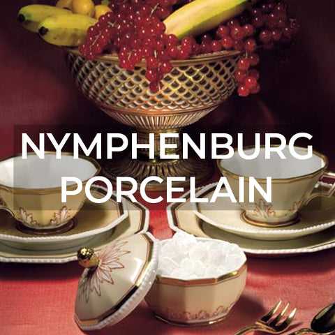 Brand page for Nymphenburg Porcelain