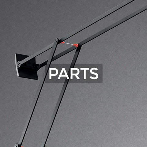 when selected takes customer to a page of parts collections for Artemide