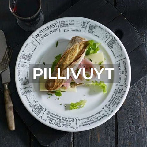 When clicked takes customer to the brand page of Pillivuyt