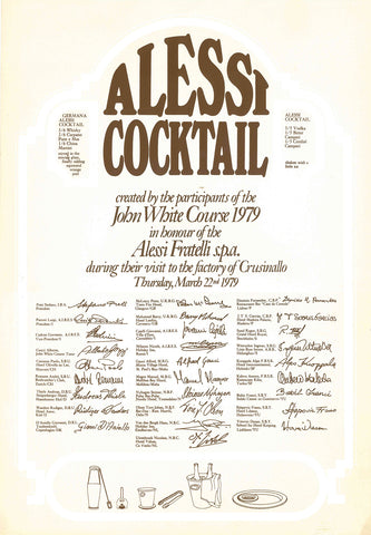Alessi Cocktail
