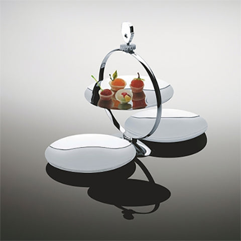 Fat Man Extending Cakestand by Marcel Wanders for Alessi