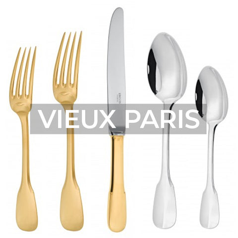 when clicked takes customer to a page of material variations for the Vieux Paris pattern from Ercuis