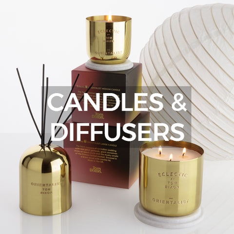 Tom Dixon Candles and Diffusers