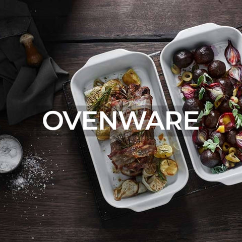 when clicked takes customer to a page of ovenware collections by Pillivuyt