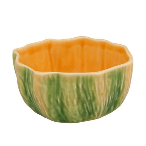 "Pumpkin Bowl, 4.3"" by Bordallo Pinheiro"