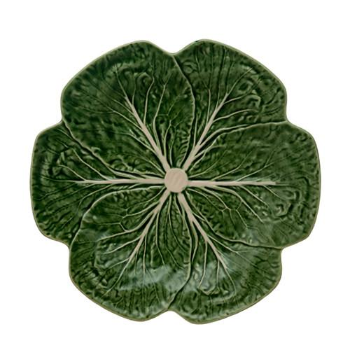 "Cabbage Dinner Plate, 10.5"" by Bordallo Pinheiro"