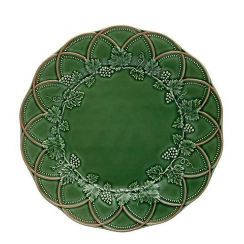 Hunting Charger Plate by Bordallo Pinheiro