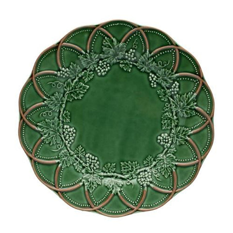 "Hunting Dinner Plate, 11"" by Bordallo Pinheiro"