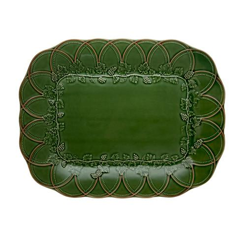 Hunting Rectangular Tray by Bordallo Pinheiro