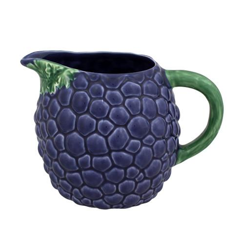 Grapes Pitcher by Bordallo Pinheiro