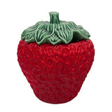 Strawberries Large Jar or Tureen, 135 oz.  by Bordallo Pinheiro