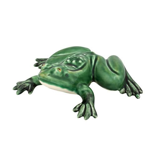 "Medium Frog, 9"" by Bordallo Pinheiro"
