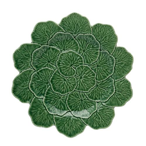 "Geranium Charger Plate, 13.1"" by Bordallo Pinheiro"