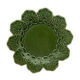 "Geranium Dinner Plate, 11"" by Bordallo Pinheiro"