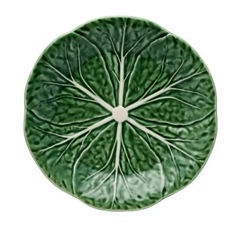 "Cabbage Dessert Plate, 7.5"" by Bordallo Pinheiro"
