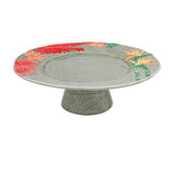 Tropical Cake Stand by Bordallo Pinheiro