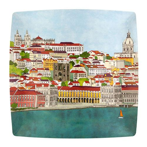 Alma de Lisboa Charger Plate by Beatriz Lamanna for Vista Alegre