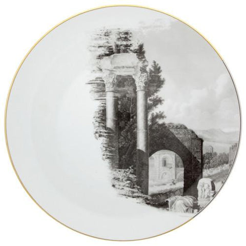 Forum Arch Dinner Plate by Christian Lacroix for Vista Alegre