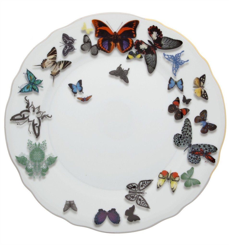 Butterfly Parade Dinner Plate by Christian Lacroix for Vista Alegre