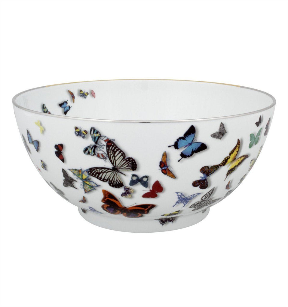 Butterfly Parade Salad Bowl by Christian Lacroix for Vista Alegre