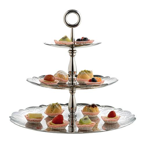 Dressed for X-mas Tiered Cake Stand by Marcel Wanders for Alessi