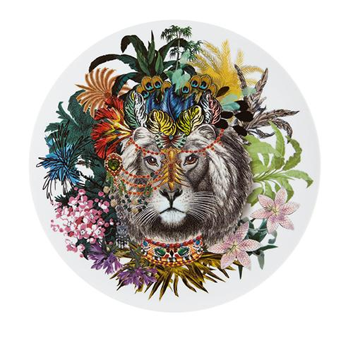 Love Who You Want Jungle King Charger Plate by Christian Lacroix for Vista Alegre
