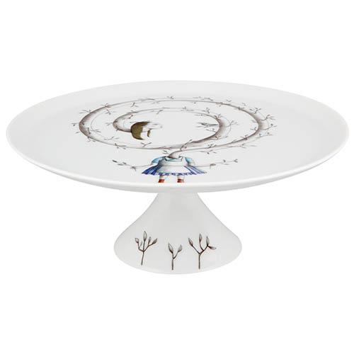 Tea with Alice Small Cake Stand & Plate Set by Teresa Lima for Vista Alegre