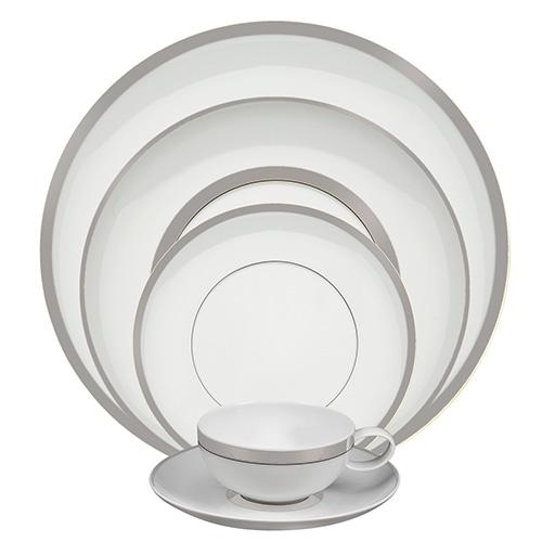 Domo Platinum 5 Piece Place Setting by Vista Alegre