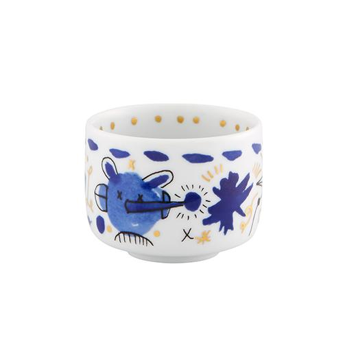 Folkifunki Bowl, Blue by Jaime Hayon for Vista Alegre