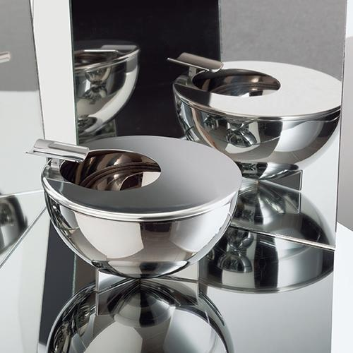 Bauhaus Round Ashtray by Marianne Brandt for Alessi
