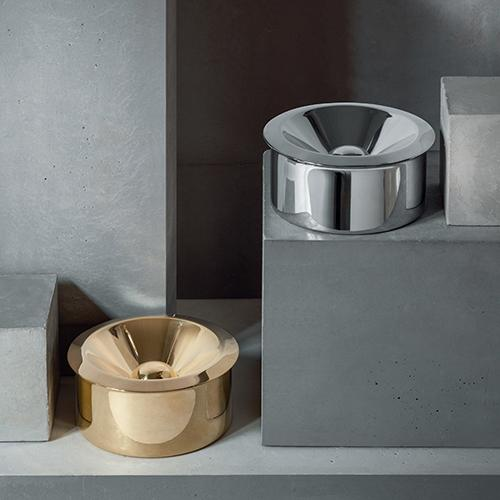 Bauhaus Ashtray by Marianne Brandt for Alessi