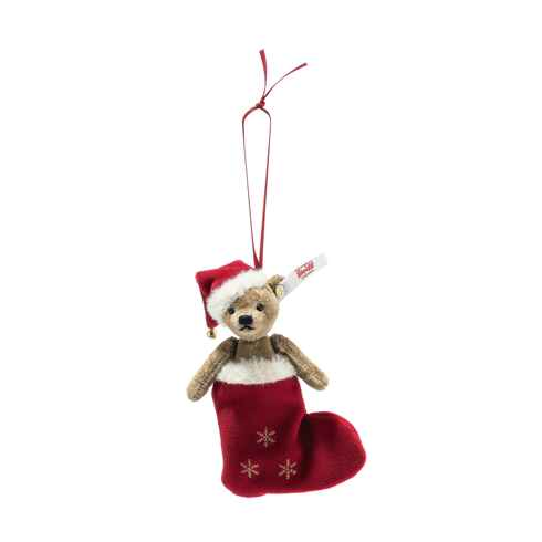 Christmas Teddy Bear Ornament, Limited Edition by Steiff