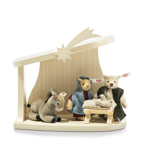 Bear Nativity Scene, Limited Edition by Steiff