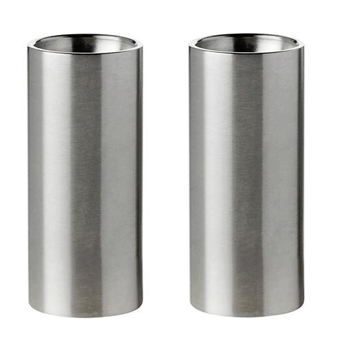 Cylinda-Line Salt & Pepper Shakers by Arne Jacobsen for Stelton