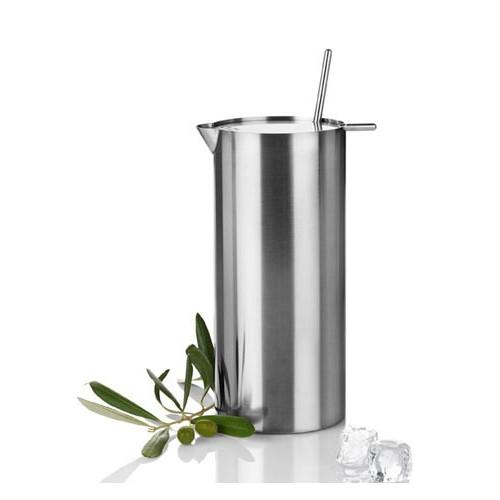 Cylinda-Line Martini Mixer with Spoon by Arne Jacobsen for Stelton