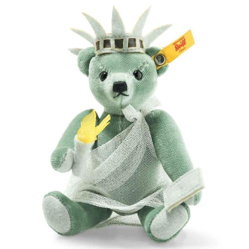 Great Escape - New York Lady Liberty Teddy Bear in Gift Box by Steiff