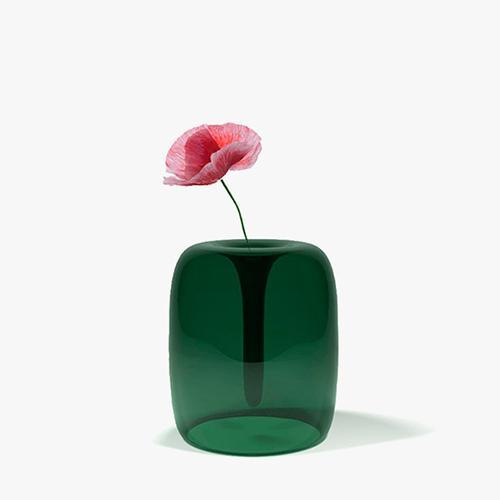 Soft Glass Vase by Kristine Melvaer for When Objects Work